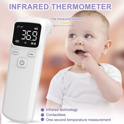 Fda Non Contact Infrared Forehead Thermometer Baby Adult Ir Thermometer Gun Usa