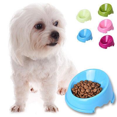 Pet Puppy Cat Dog Eating Feeder Dish Pet Dog Feeding Food Water Bowl