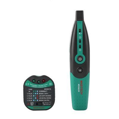 Mastech Ms5902 Automatic Circuit Breaker Fuse Finder Useu Plug Socket Tester Ss