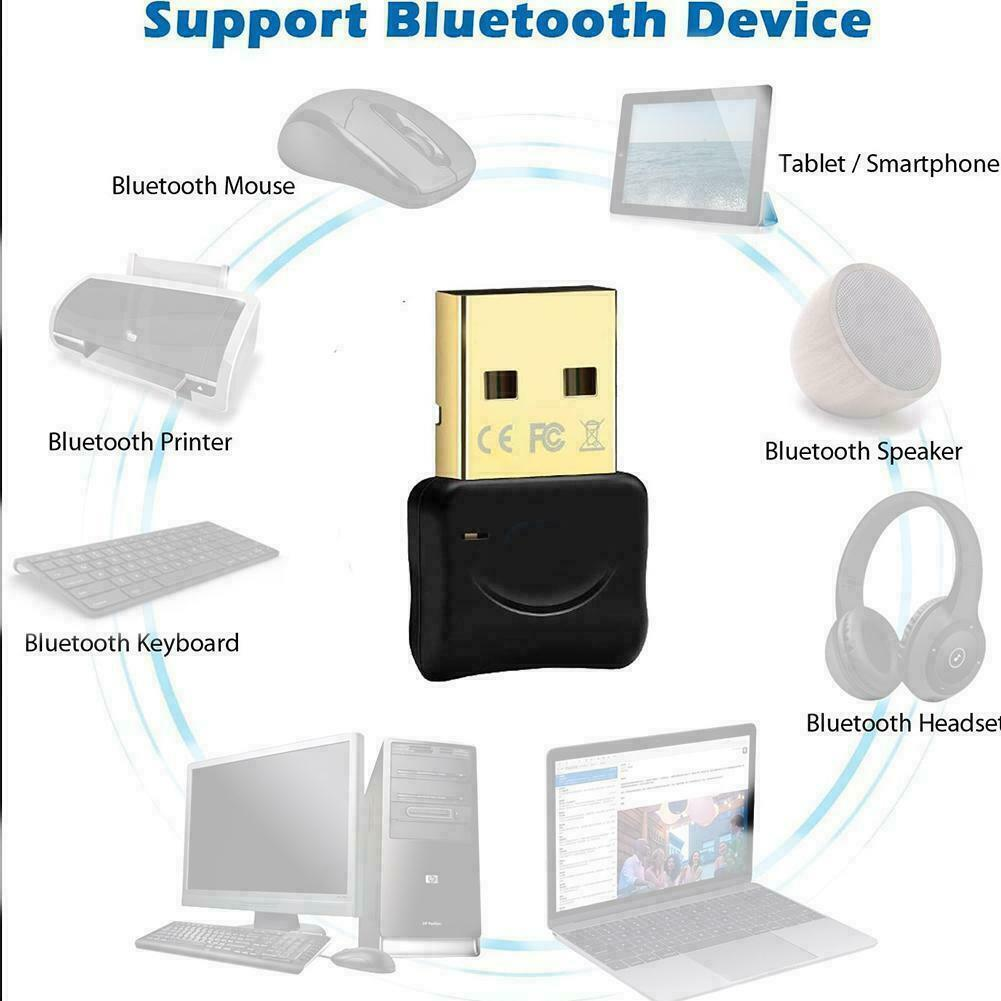 USB Bluetooth 5.0 Audio Transmitter Receiver USB Adapter Car PC For TV A1M2 F1Q6 - $6.99