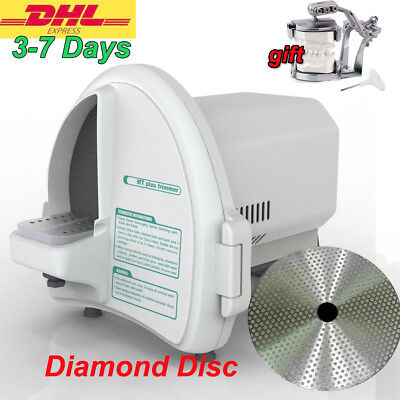 Wet Model Shaping Plaster Trimmer Abrasive Diamond Disc Dental Lab Equipment Dhl