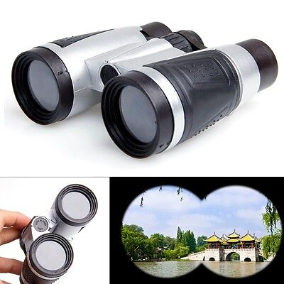 Day Night Binoculars Telescope Zoom 6 x 30 Folding Outdoor Travel Hiking Hunting
