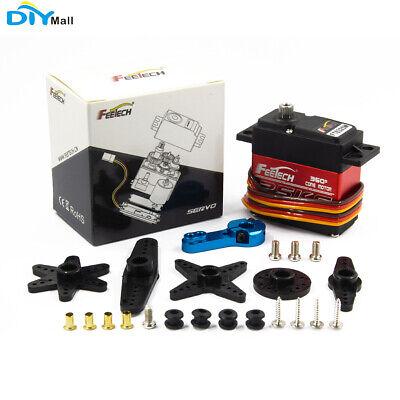 Feetech Ft6325m Digital Servo 7.4v 25kg.cm 360 Core Magnetic Coding Metal Gear