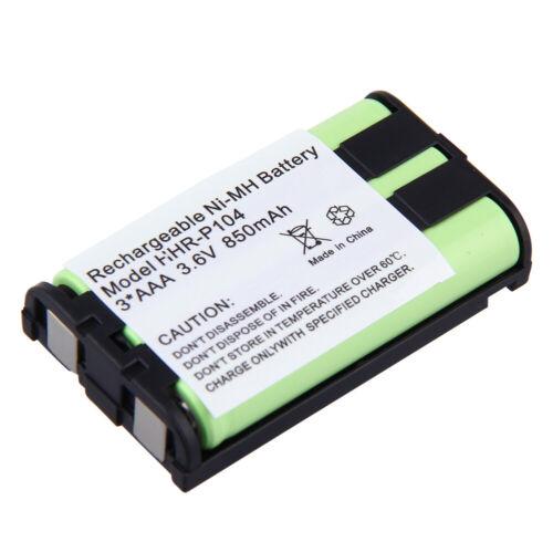 3.6V 850mAh Battery for Panasonic HHR-P104 HHR-P104A HHRP104 Cordless Phone