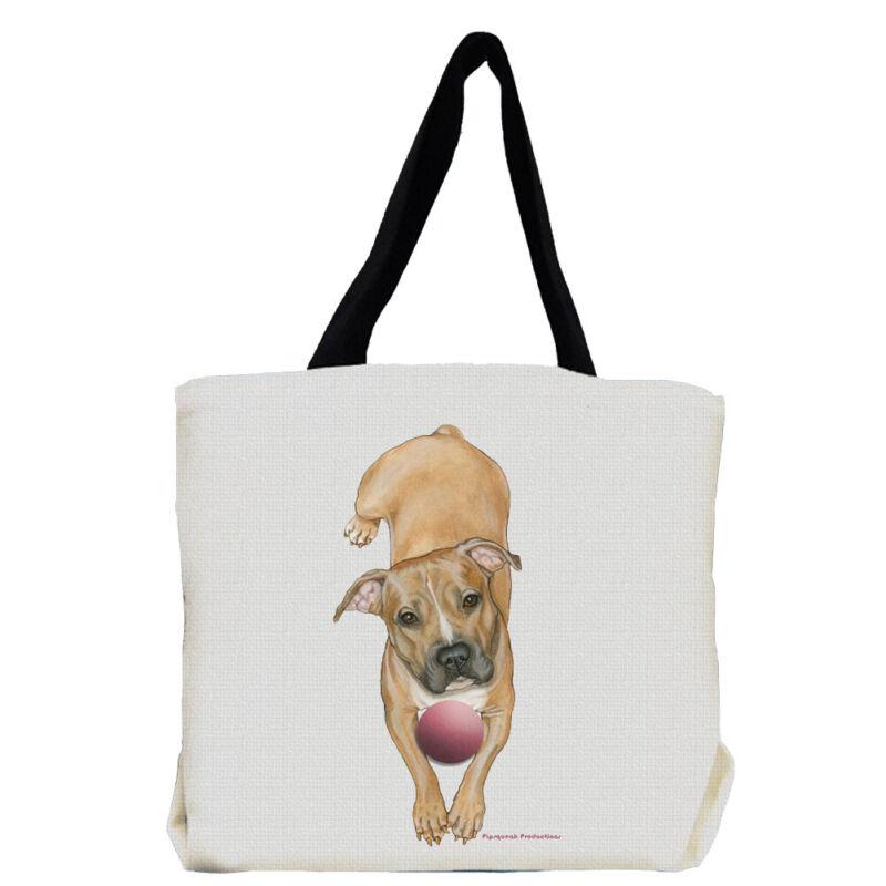Pit Bull Dog Tote Bag