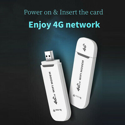4G LTE USB WIFI Wireless Router Mobile Modem 150Mbps Hotspot Sim Card Unlocked