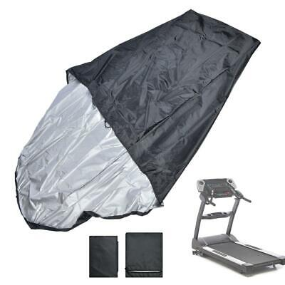 Treadmill Cover Waterproof Running Jogging Machine Dustproof Shelter Black