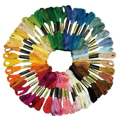 120 Multi Colors Cross Cotton Thread Stitch Floss Embroidery