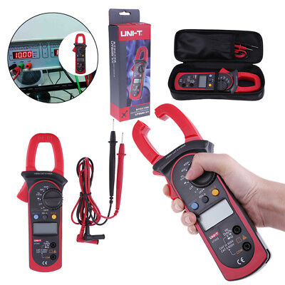 Uni-t Ut203 Digital Display Acdc Clamp Multimeter Current Voltage Meter W Bag