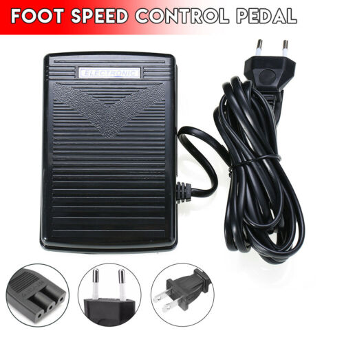 Home Sewing Machine Electronic Foot Control Pedal With Power