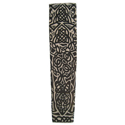 Tattoo Sleeve (Celtic) ~ HALLOWEEN BIKER PUNK ROCK STAR COSTUME PARTY NOVELTY