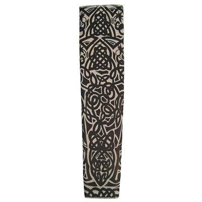 Biker Halloween Costume Accessories (Tattoo Sleeve (Celtic) ~ HALLOWEEN BIKER PUNK ROCK STAR COSTUME PARTY)