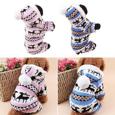 Winter Dog Costumes Pet Clothes Coats for Small Large Dogs Warm  - Costumes For Large Dogs