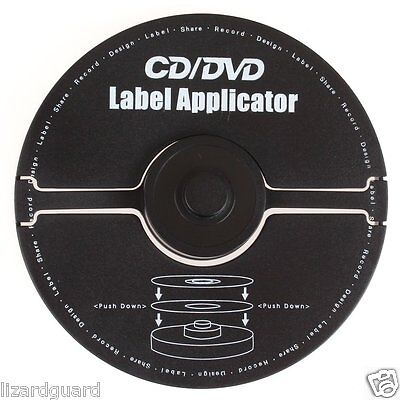 Applicator Cddvd Label Merax 176-027 40mm Center Hole Labels From Label Sheet