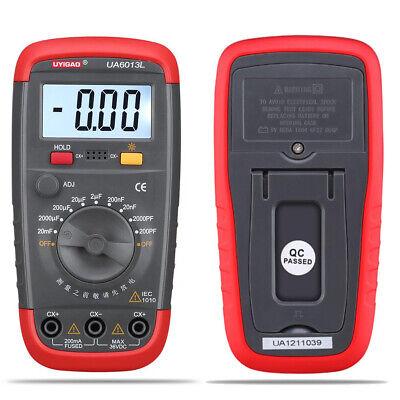 UA6013L NCV Tester Digital multimeter True RMS AC DC LED Cap Ohm Freq Test BE