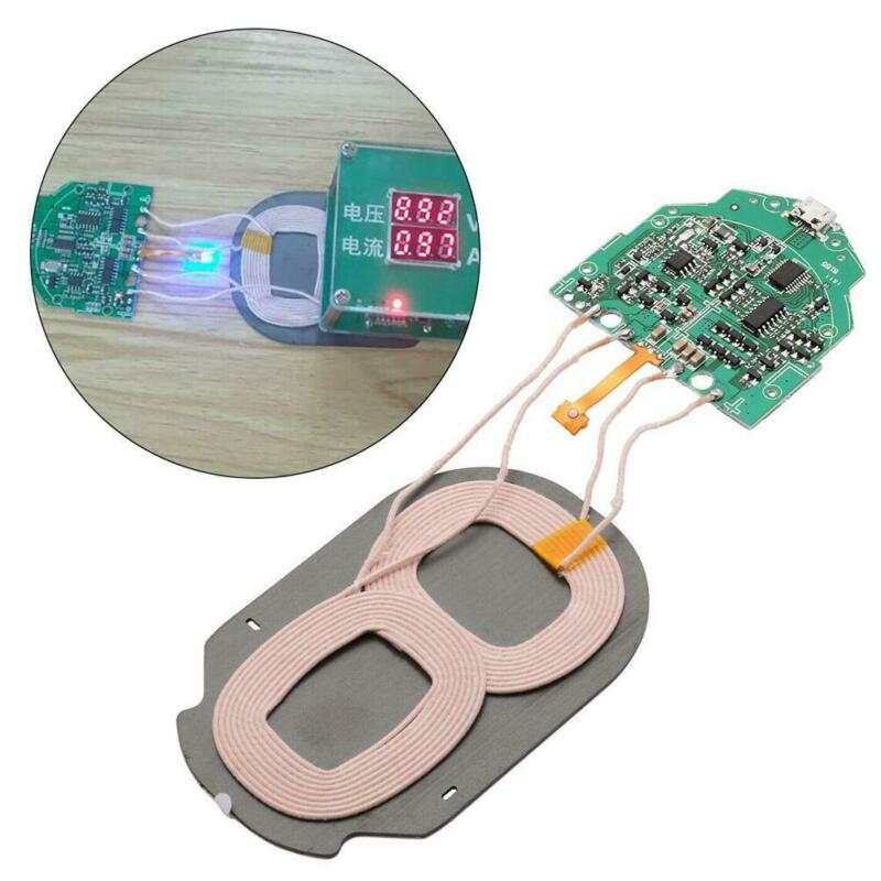 10W Qi Fast Charging Wireless Charger PCBA Circuit Board Wit