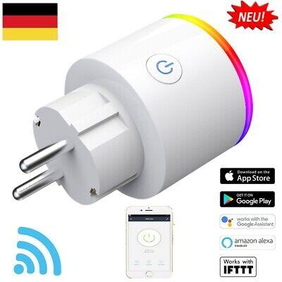 Wlan Stecker Für Steckdose : smart steckdose wifi wlan f r amazon alexa fernbedienung ~ Watch28wear.com Haus und Dekorationen