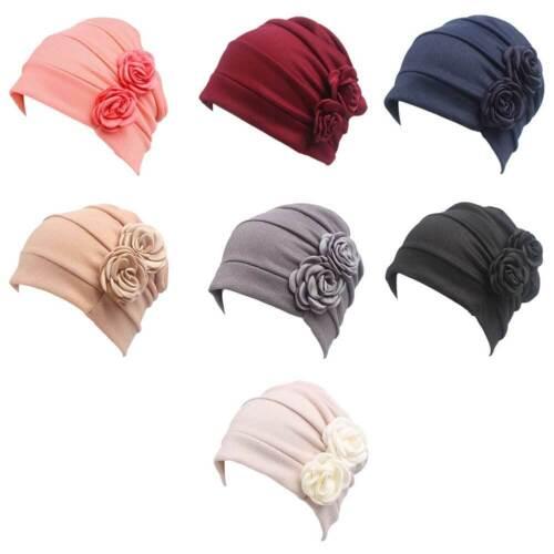 Women's Chemo Cap Soft Night Sleep Turban Headwear Beanie