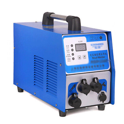 220v Capacitor Discharge Stud Welder Bolt Plate Welding Machine For M3-m10 Studs