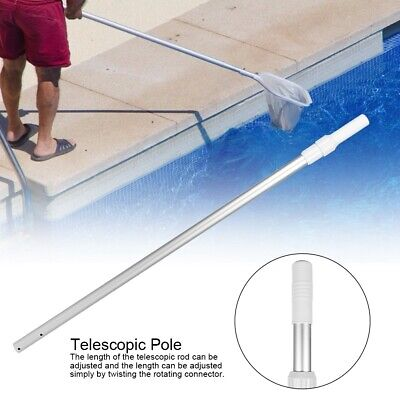 Telescoping Swimming Pool Cleaning Maintenance Pole Rod Shaft 44.6in to 78.7in