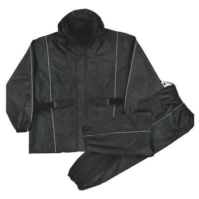 Nex Gen Men's Motorcycle Rain Suit, Reflective Piping & Heat Guard SH2225