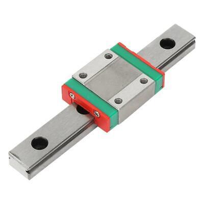 Lml12b Miniature Linear Rail Guide 100mm Length 12mm Width Slide Block Black