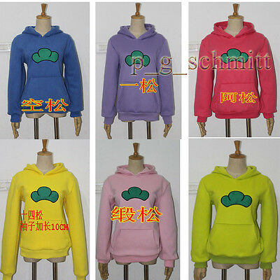 SIX SAME FACES Konya wa Saikou Mr.Osomatsu San Hoodie Jacket Sweater Cos Costume