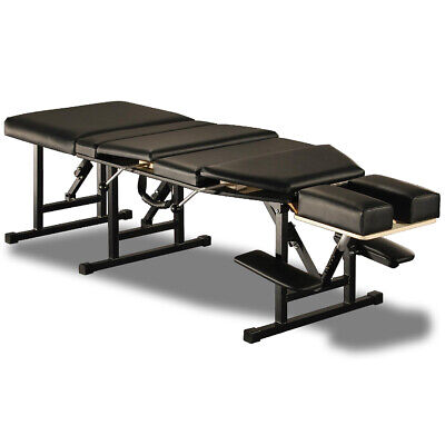 Photo NEW! ELITE PORTABLE FOLDING CHIROPRACTIC TABLE - FOLDING CHIRO DROP TABLE