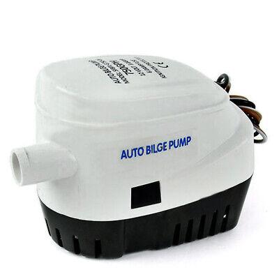Marine 750gph Automatic Submersible Boat Bilge Full Auto Water Pump 12v New