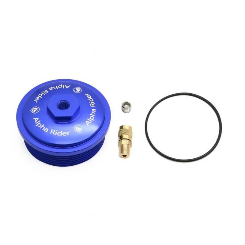 Billet Aluminum Diesel Fuel Filter Cap w// Port For Ford Powerstroke 6.0L 03-2007