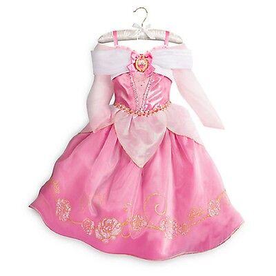 Disney Store Aurora Costume Fancy Dress Halloween Sleeping Beauty 2017