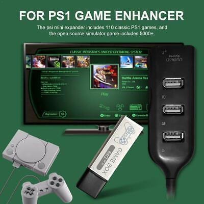 Für PS1 Mini Spiel Enhancer Stecker Open Source Simulator Eingebaute 7000 Spiele