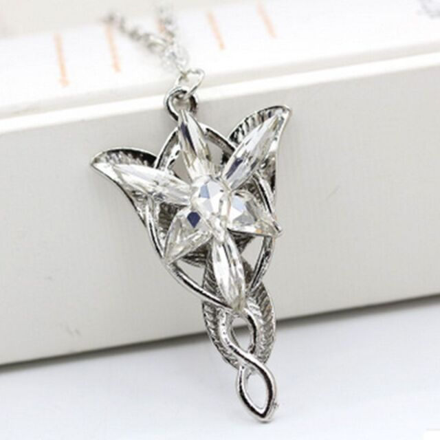Lord of the Rings Movie Elves Princess EVENSTAR Dragon Necklace Pendant Gifts
