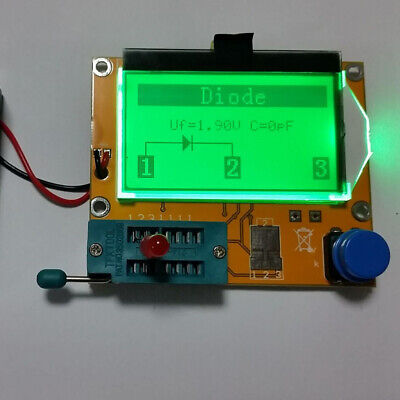 Multifunction Resistor Tester Transistor Graphic Esr Capacitor Inductance