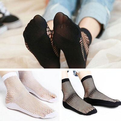 Fish Net Hose (2 Pairs Women Glitter Bow Knot Mesh Fishnet Net Girl Low Cut Ankle Socks)