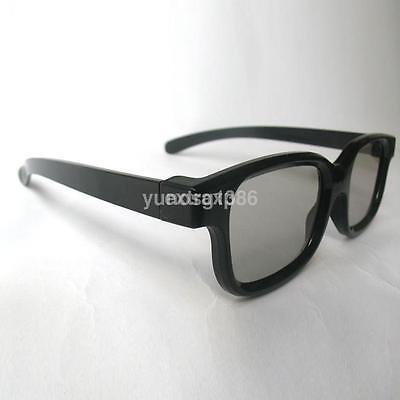 Passive 3D Glasses Black For RealD Cinema 3D TV Philips Pana