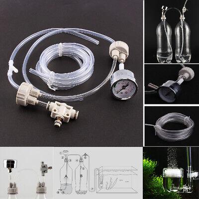 Co2 Tube - DIY CO2 Generator System Kit D201 Tube Valve Guage For Aquarium Water Plant Tank