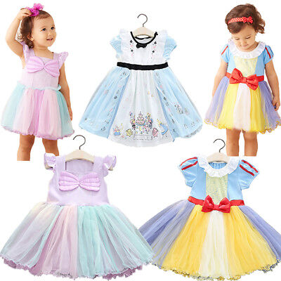 Princess Cosplay Birthday Party Fancy Dress Photo Props For Toddler Baby - Fancy Dresses For Babies