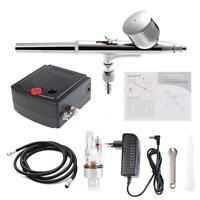 mini Tattoo Precision Airbrush Nail Specific Air Pump Compressor Model Tool