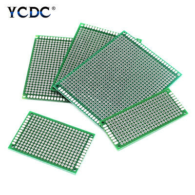 Double-sided Circuit Board Pcb Prototype Breadboard Arduino Diy Project 510 Pcs