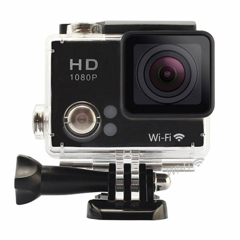 eXuby 1080p Action Camera with18 Mounting Accessories Included
