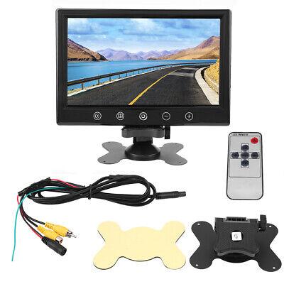 """9"""" Zoll TFT LCD Monitor Farb Bildschirm DVD Video für Auto KFZ Rückfahrkamera DE"""