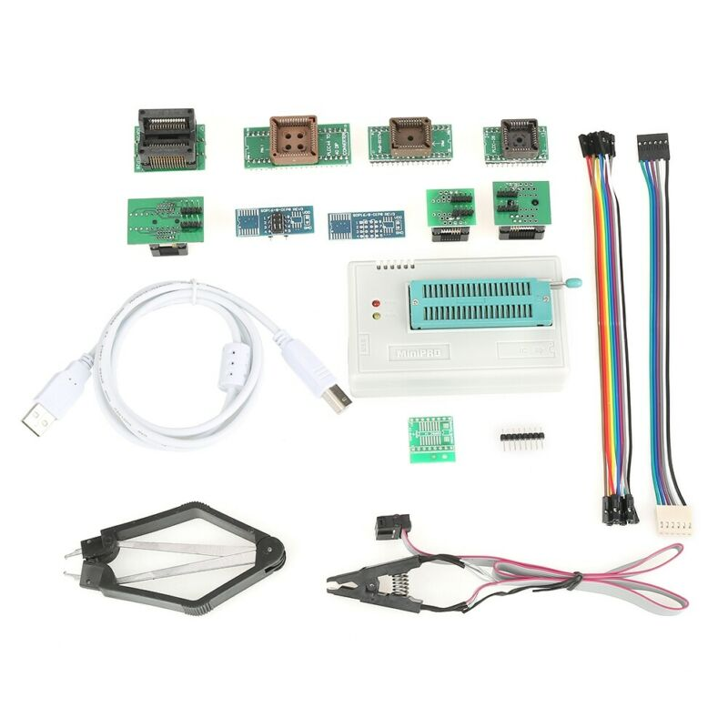 Programmer TL866II PLUS for ICSP in-circuit program more than 15000+ Support USA