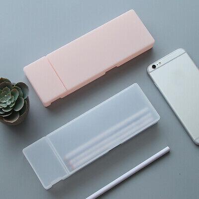 Transparent Plastic Pencil Case Pen Box Kids Gift Office School Supplies Healthy](Kids Pencil Case)