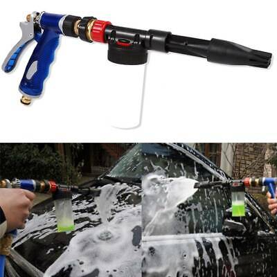 Snow Foam Car Washer Washing Spray Gun Water Soap Shampoo Cleaning Hose Pipe