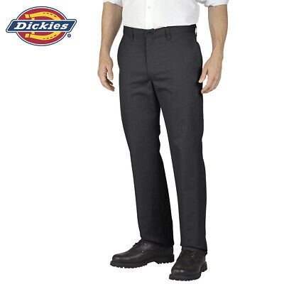 Genuine Dickies Men's GP474 Flat Front Twill Work Uniform Pants Clothing, Shoes & Accessories