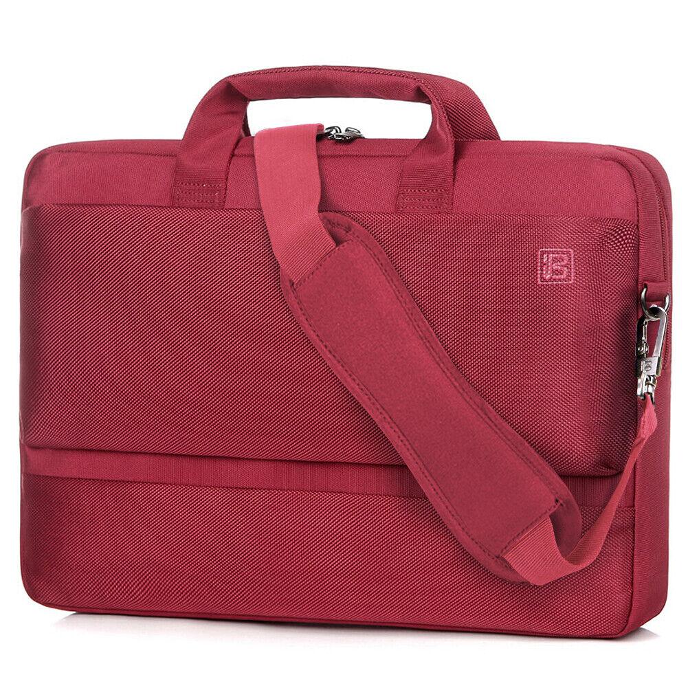 """BRINCH 15.6"""" Laptop Tablet Bag Waterproof Shoulder Messenger"""