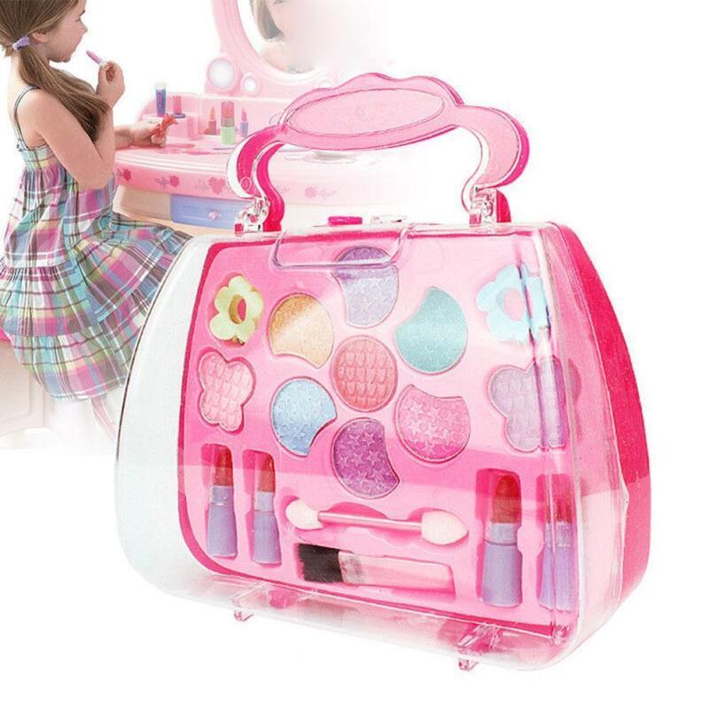 Kleinkindspielzeug Pretend Play Kosmetik Make up Spielzeug Set Kit für Mädchen Kinder Beauty