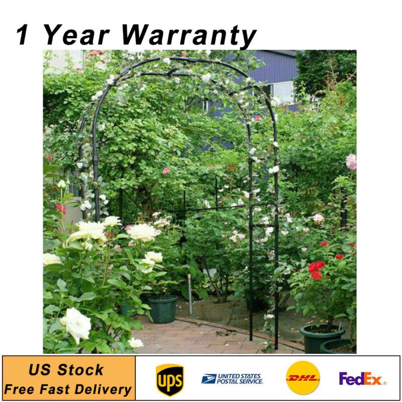 7.9 Feet Green Metal Arch for Wedding Party  Garden Decoration USA Shipping