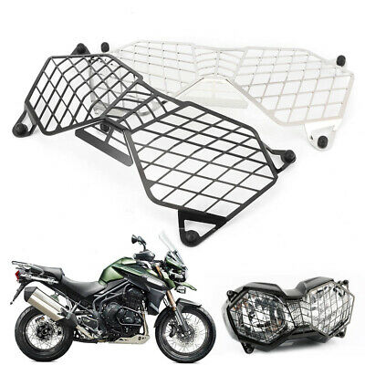 HEADLIGHT GRILLE GUARD COVER PROTECTOR FOR TRIUMPH EXPLORER 1200 1200